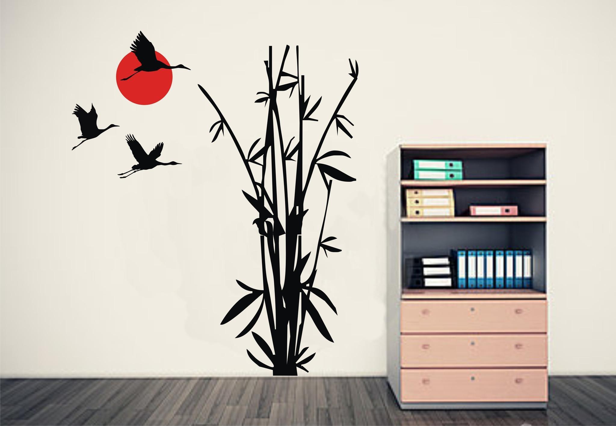 Bamboo Wall Art Inspiration Metal Wall Art On Wall Art Canvas With Bamboo Metal Wall Art (Image 5 of 20)