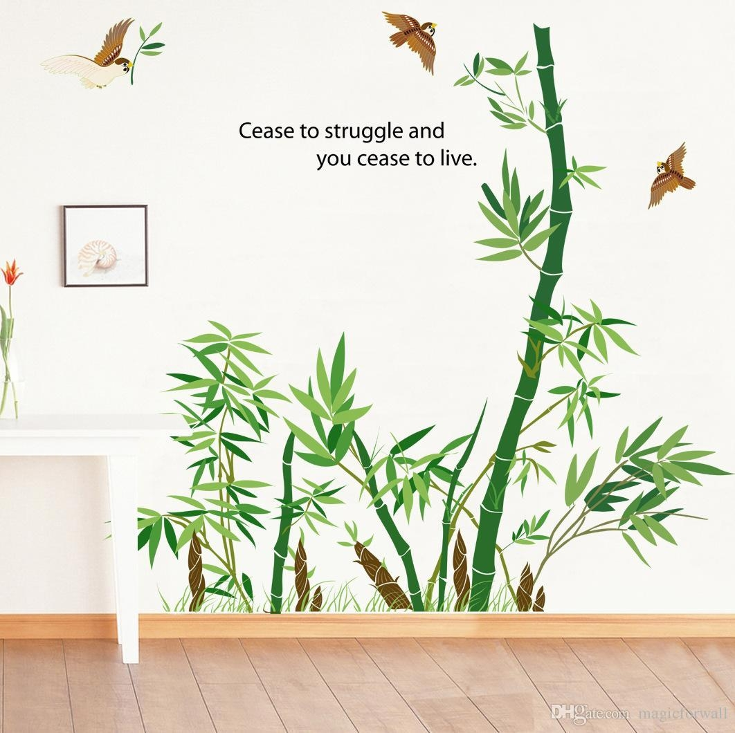 Bamboo Wall Art | Roselawnlutheran With Regard To Bamboo Metal Wall Art (Image 4 of 20)