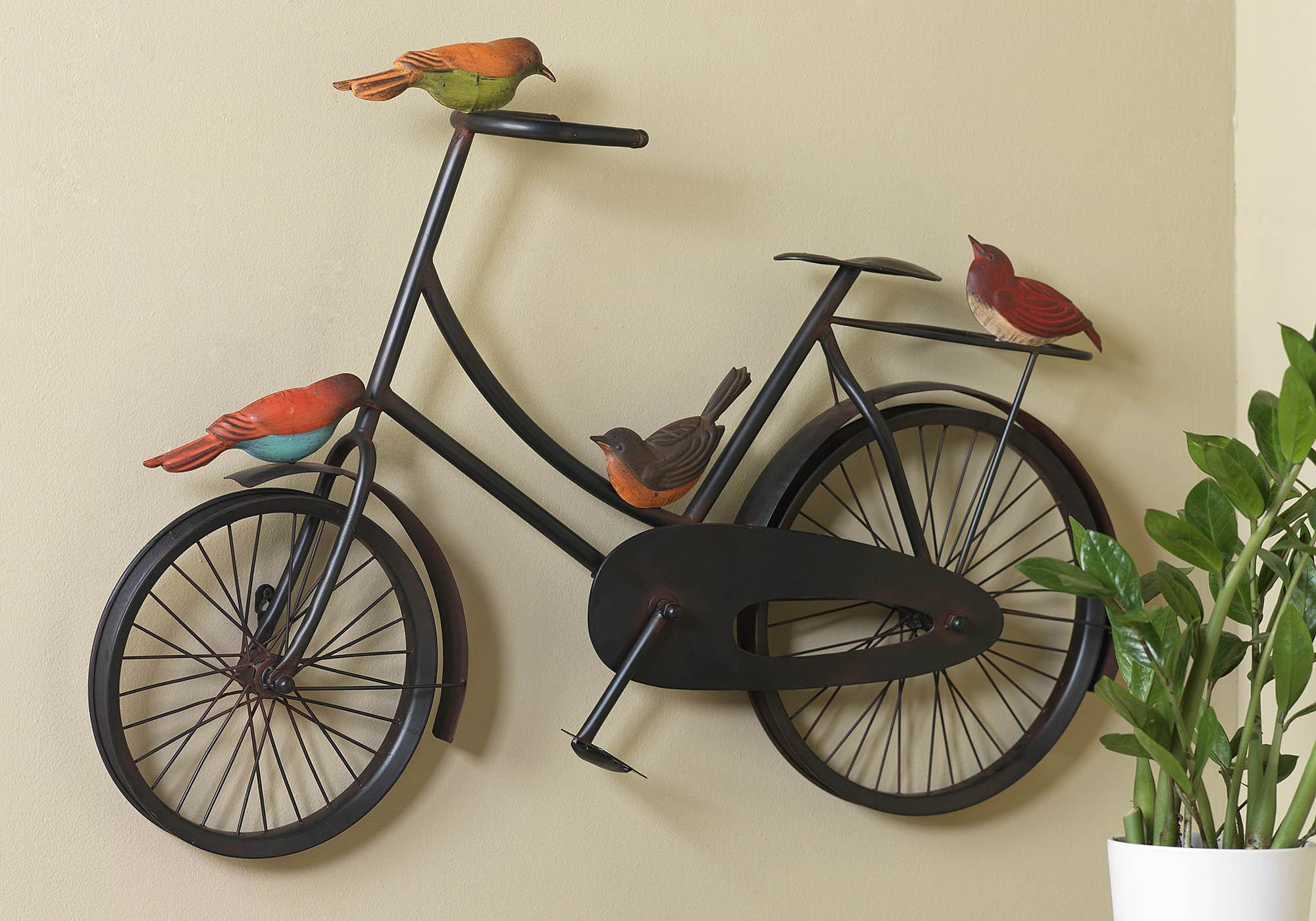Bare Wall Remedies | Porter's Craft & Frame For Bicycle Wall Art Decor (Image 3 of 20)