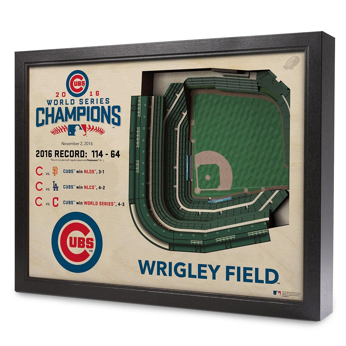 Baseball Stadium Art | Wrigley Field | Uncommongoods With Regard To Red Sox Wall Art (Image 3 of 20)