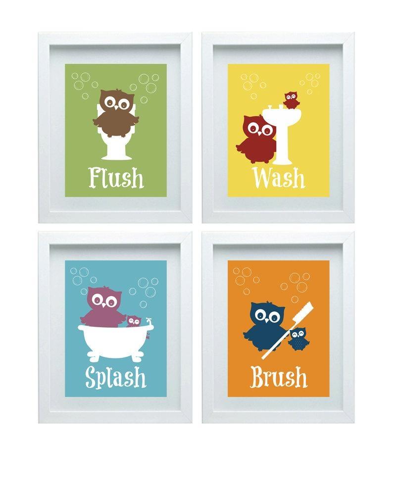 Featured Image of Kids Bathroom Wall Art