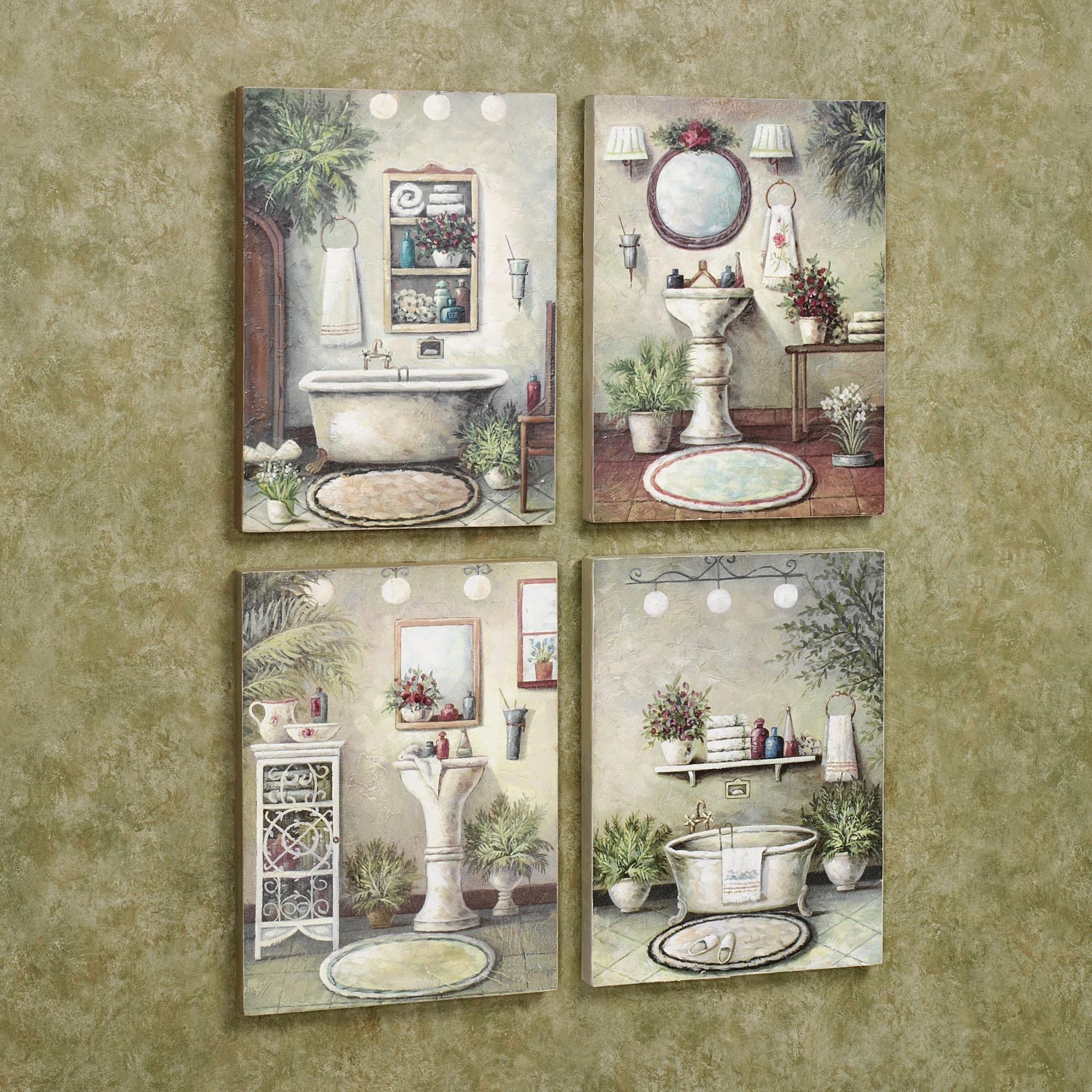 Bathroom Wall Hangings – Great Home Design References | H.u.c (View 2 of 20)