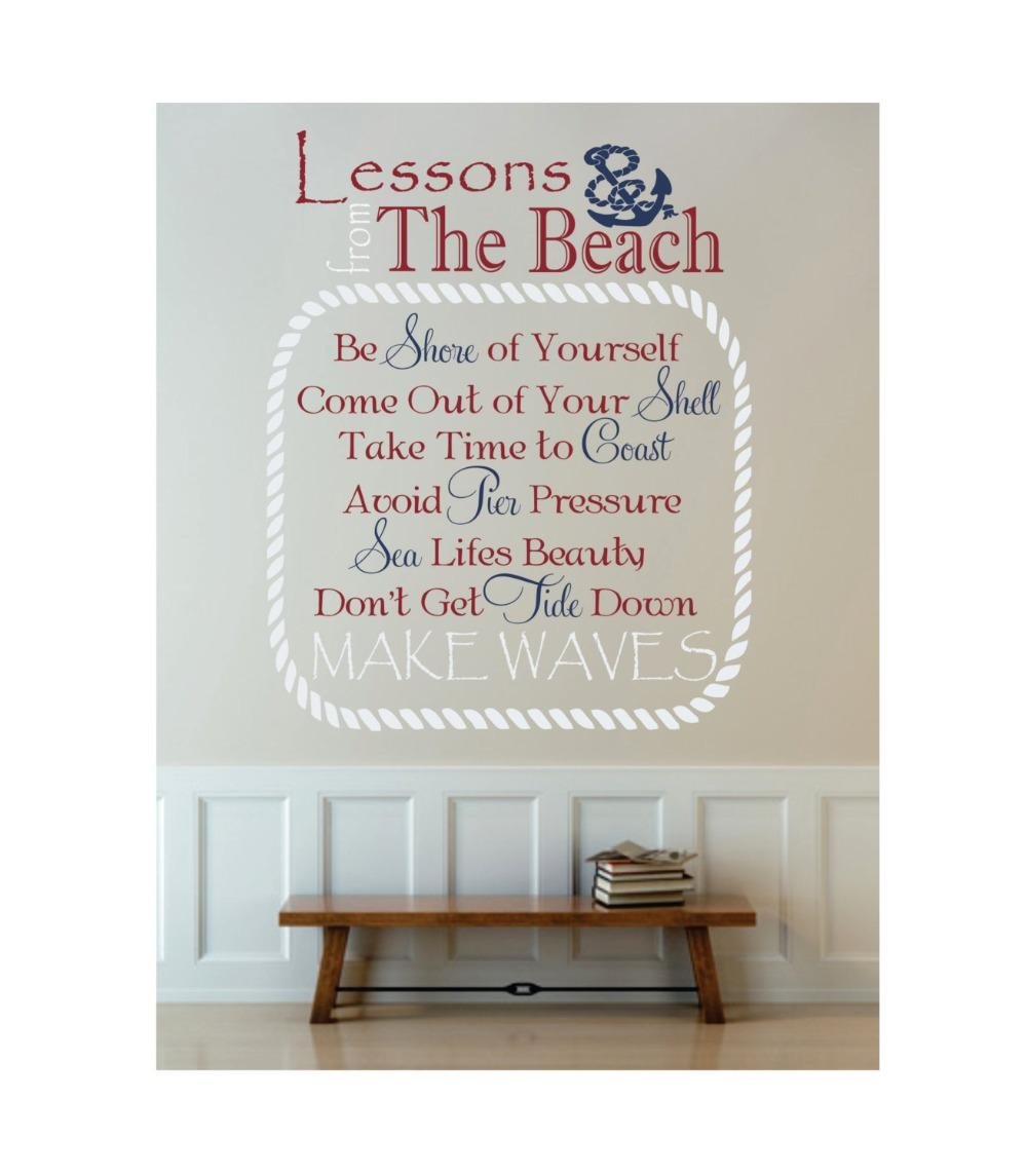 Beach Cottage Wall Art Promotion Shop For Promotional Beach With Beach Cottage Wall Art (Image 5 of 20)