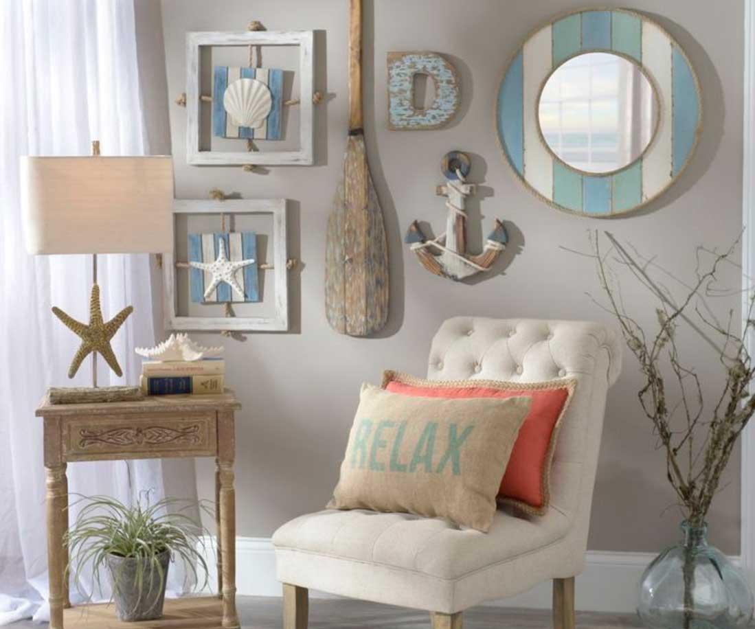 Beach Theme Wall Art Design Ideas   Home Interior & Exterior Inside Beach Theme Wall Art (Image 3 of 20)