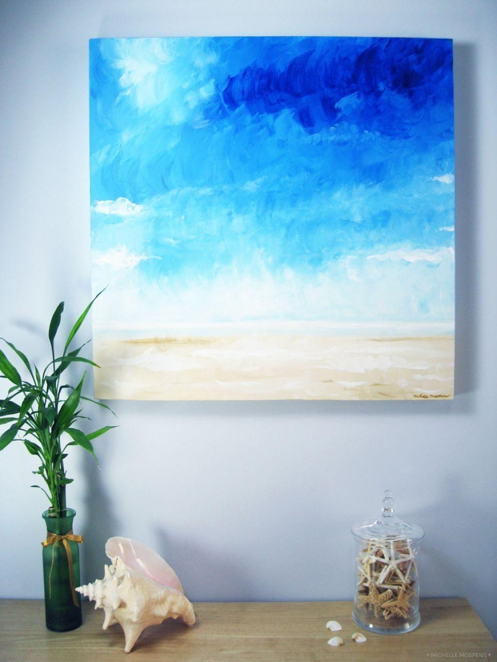 Beach Themed Painting Wall Art – Decorate Your Interior With Wall Inside Beach Theme Wall Art (Image 4 of 20)