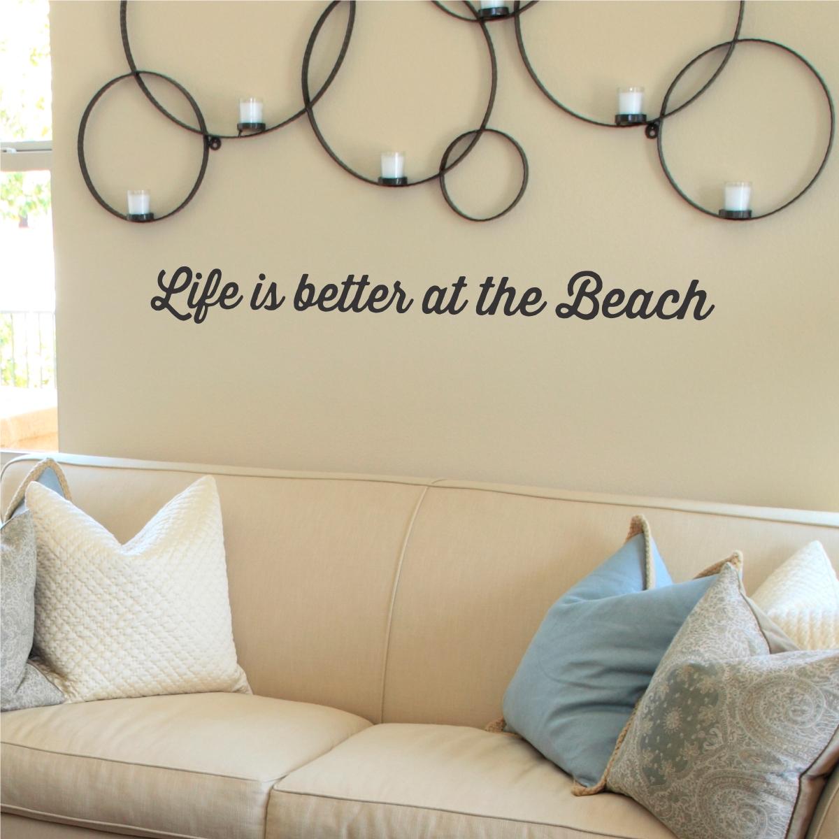 Beach Themed Wall Art Decorating Ideas – Best House Design Pertaining To Beach Theme Wall Art (Image 7 of 20)
