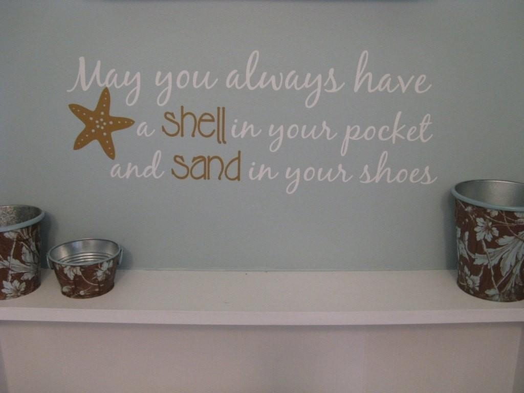 Beach Themed Wall Decor | Nana's Workshop Pertaining To Beach Theme Wall Art (View 20 of 20)