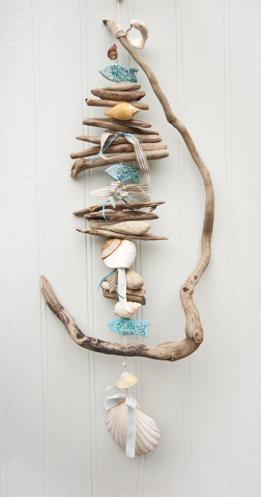Beautiful Etsy Driftwood Wall Decor Driftwood If You Could White In Driftwood Wall Art For Sale (Image 6 of 20)