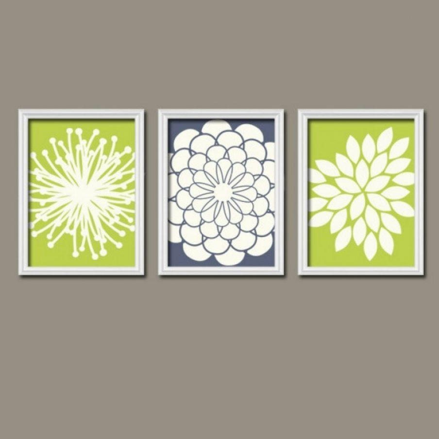 Beautiful Lime Green Wall Art Canvas Art Canvas Lime Green Wall In Lime Green Wall Art (Image 5 of 20)