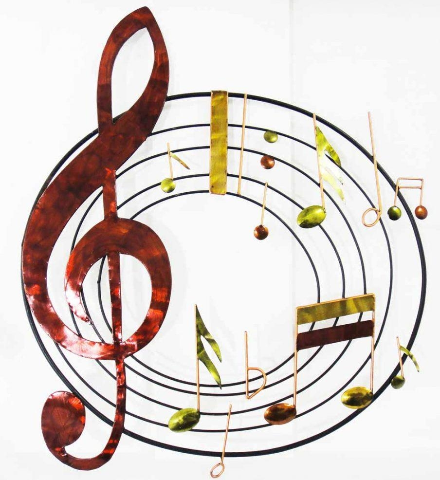 Beautiful Music Metal Wall Art Canada Jazz It Up Metal Music Notes Regarding Metal Music Notes Wall Art (Image 3 of 20)