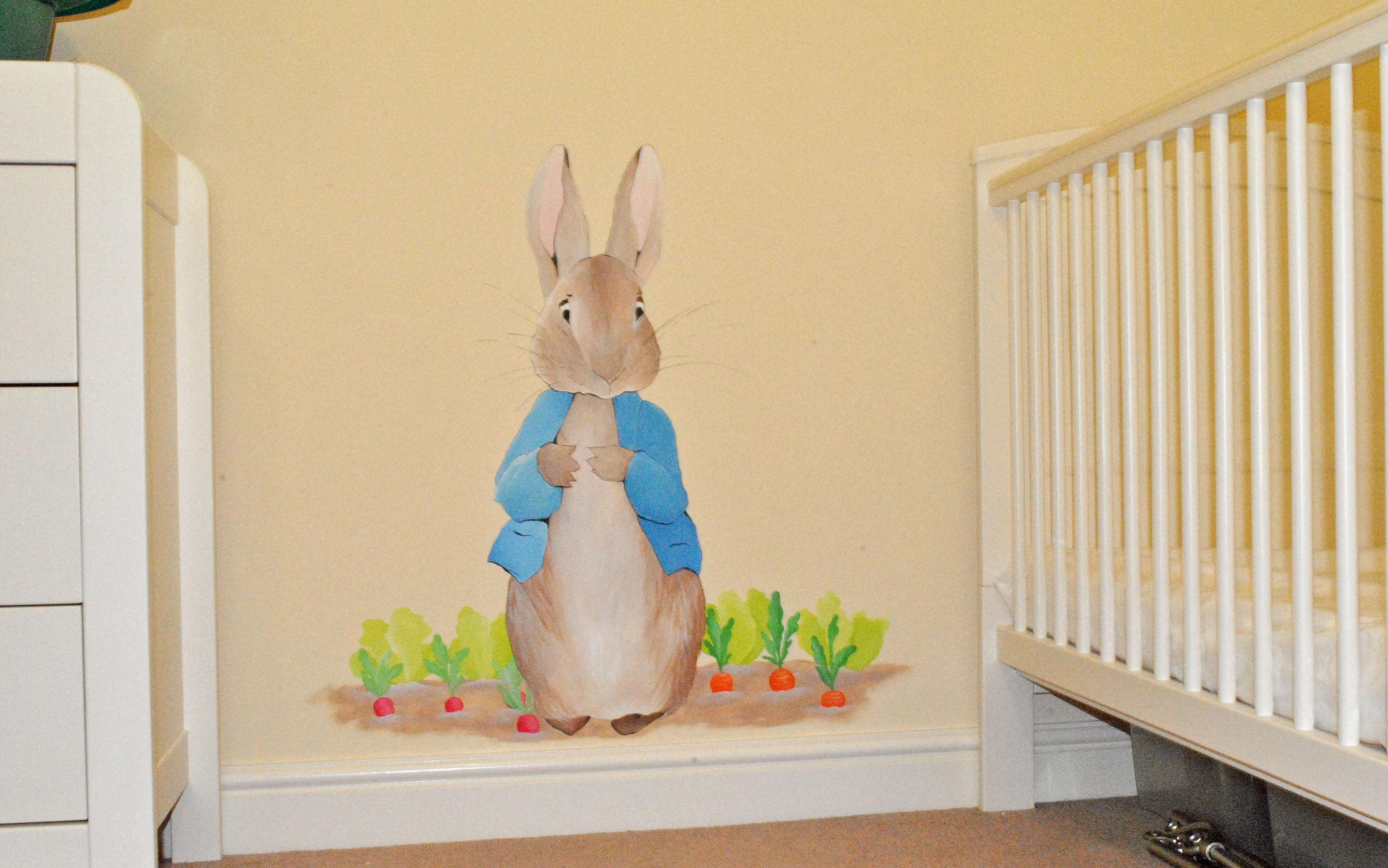Bedroom: Chic Peter Rabbit Bedroom (View 5 of 20)