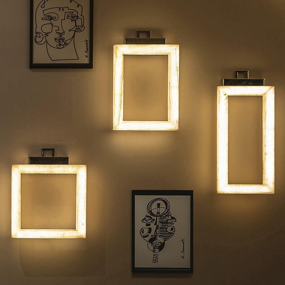 Behind The Design: Lighting That Doubles As Art At Lumens With Wall Art Lighting (Image 2 of 20)