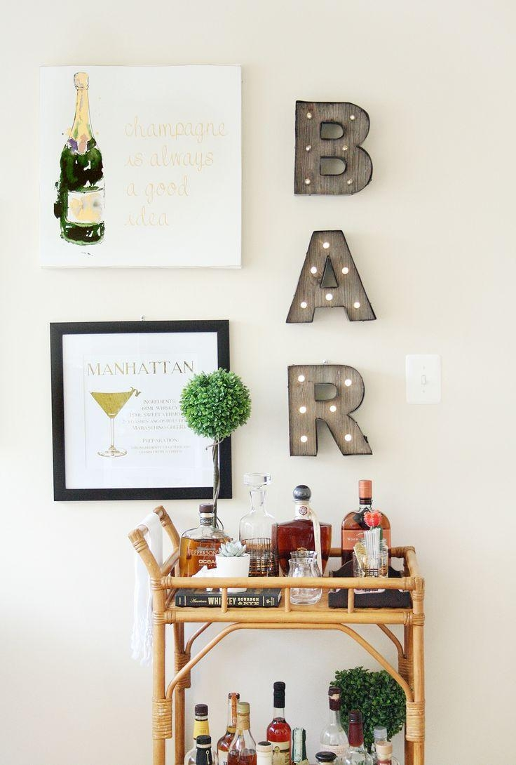 Best 10+ Bar Art Ideas On Pinterest | Bourbon Quotes, Bourbon Bar In Wall Art For Bar Area (Image 3 of 20)