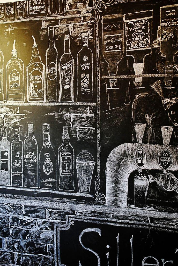 Inspirations wall art for bar area ideas