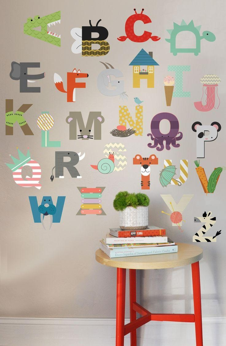 20 best collection of preschool wall decoration wall art for Wall decoration ideas with photos
