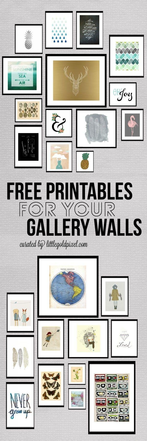 Best 10+ Diy Wall Art Ideas On Pinterest | Diy Art, Diy Wall Decor Pertaining To Pinterest Diy Wall Art (View 19 of 20)