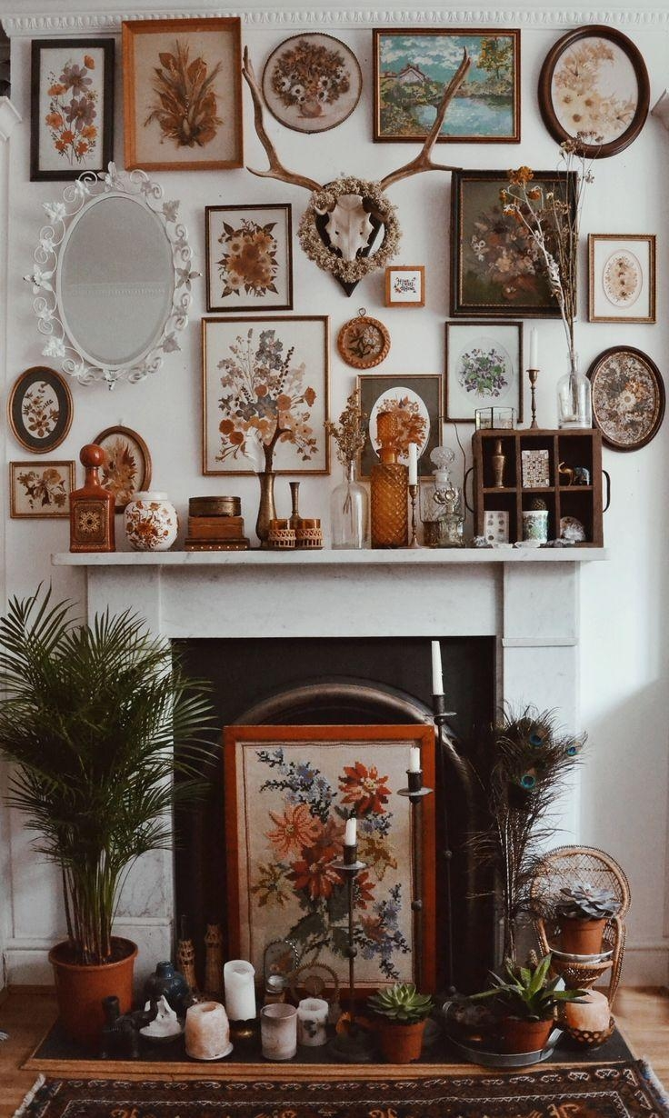 Best 10+ Eclectic Fireplaces Ideas On Pinterest | Brick Fireplace Pertaining To Fireplace Wall Art (View 11 of 20)