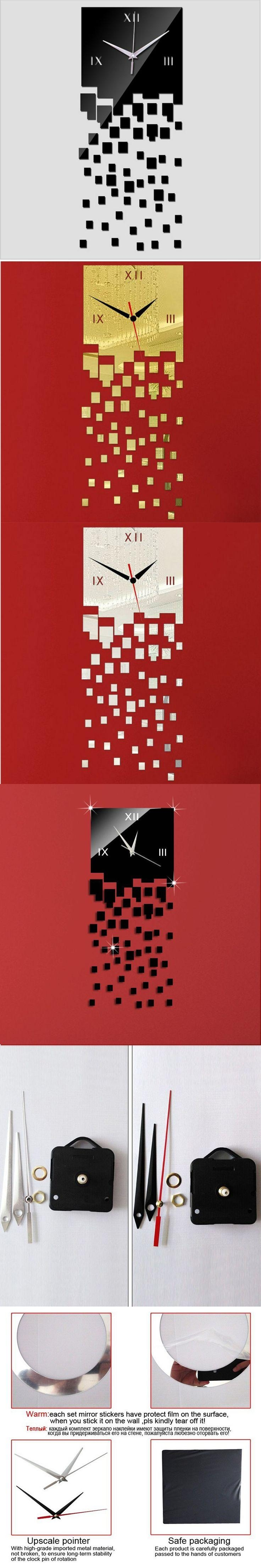 Best 10+ Mirror Wall Clock Ideas On Pinterest | Scandinavian Wall Within Italian Ceramic Wall Clock Decors (Image 4 of 20)