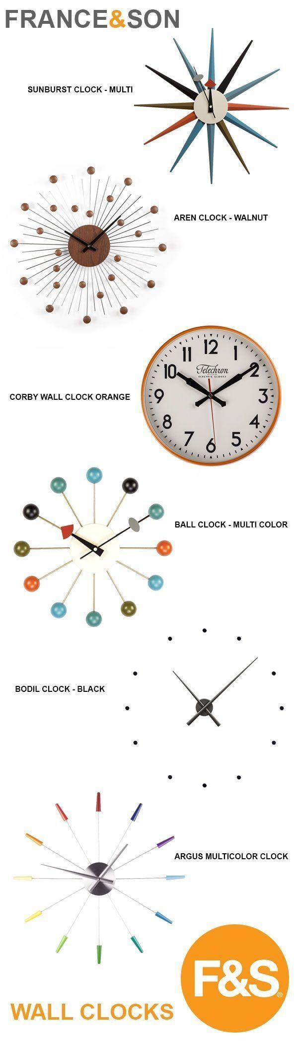 Best 10+ Orange Clocks Ideas On Pinterest   Orange C, Blood Orange Throughout Italian Ceramic Wall Clock Decors (Image 5 of 20)