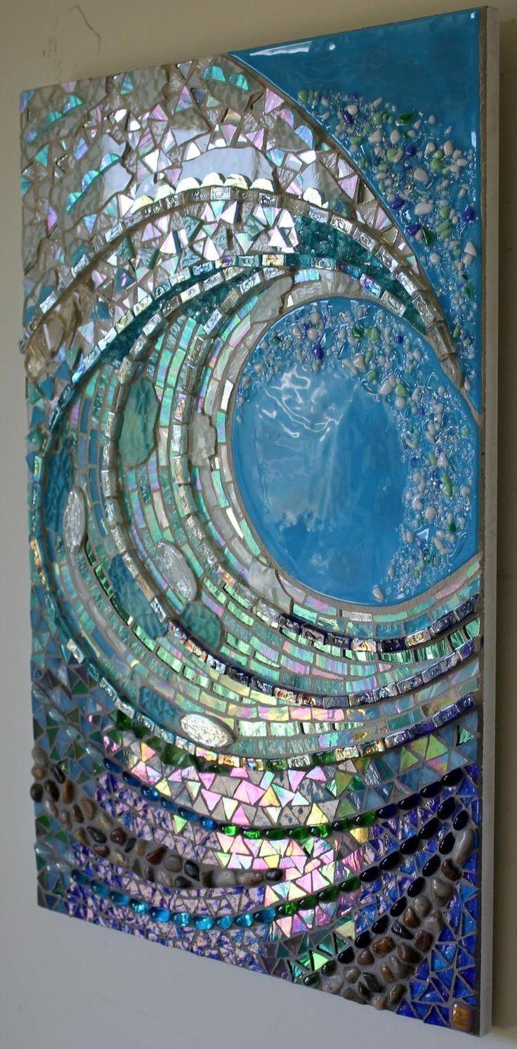 Best 20+ Broken Mirror Art Ideas On Pinterest | Broken Mirror Throughout Glass Wall Artworks (Image 13 of 20)