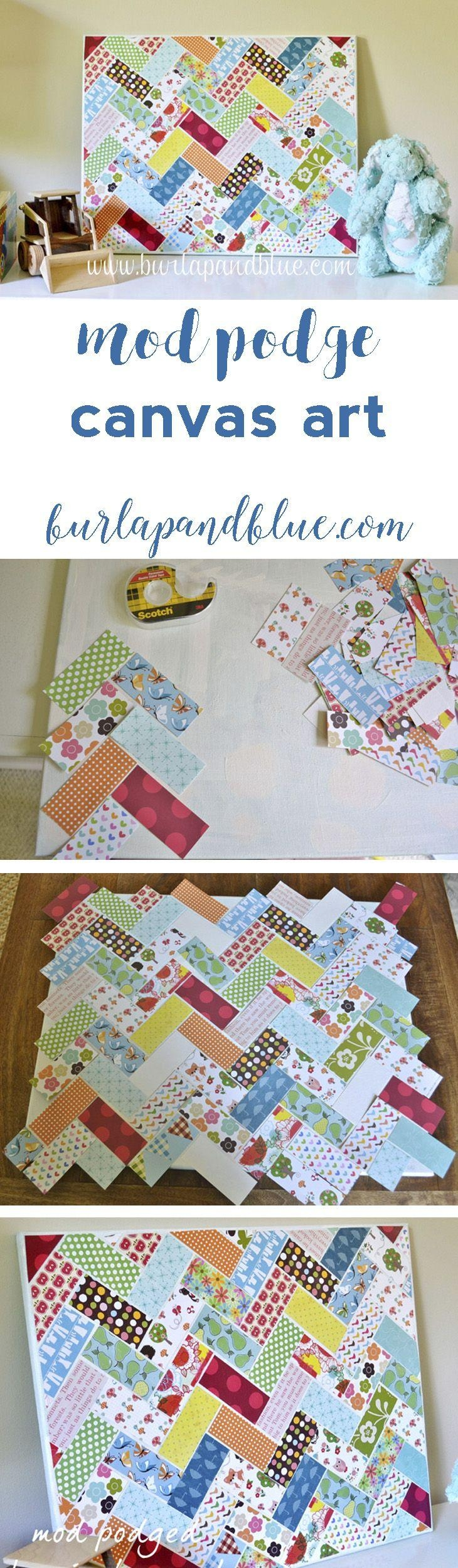 Best 20+ Canvas Wall Art Ideas On Pinterest—No Signup Required In Diy Pinterest Canvas Art (Image 3 of 20)