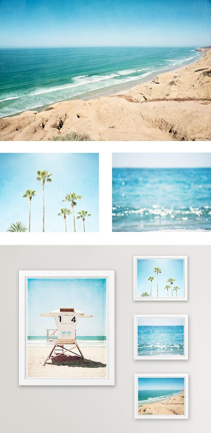 Best 20+ Coastal Art Ideas On Pinterest | Coastal Decor, Coral With Regard To Coastal Wall Art Canvas (Image 3 of 20)