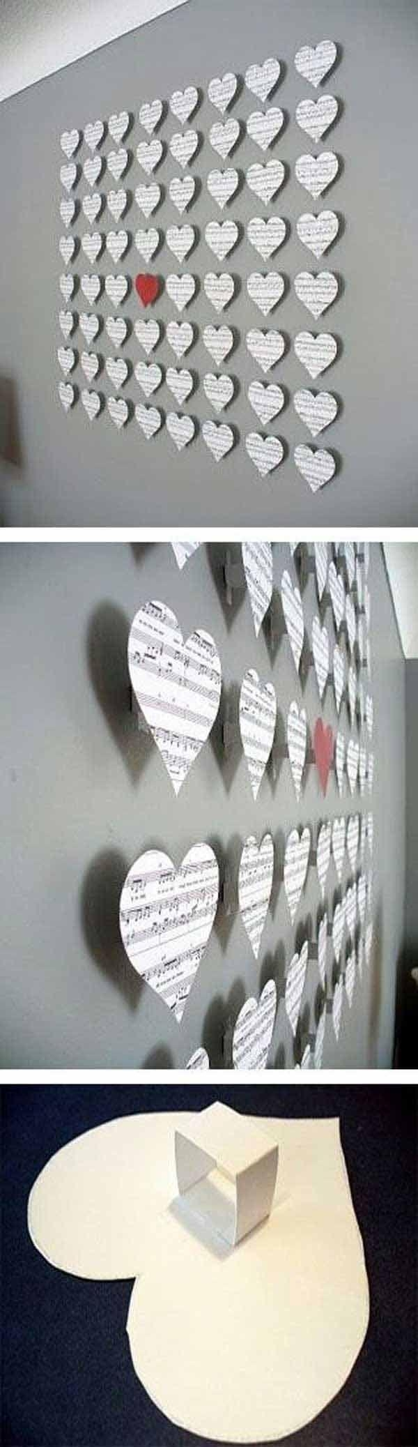 Best 20+ Diy Wall Ideas On Pinterest | Cheap Bedroom Ideas, Cheap For Pinterest Diy Wall Art (View 11 of 20)