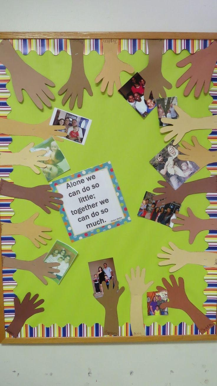 Best 20+ Family Bulletin Boards Ideas On Pinterest | Infant Within Preschool Wall Decoration (Image 3 of 20)