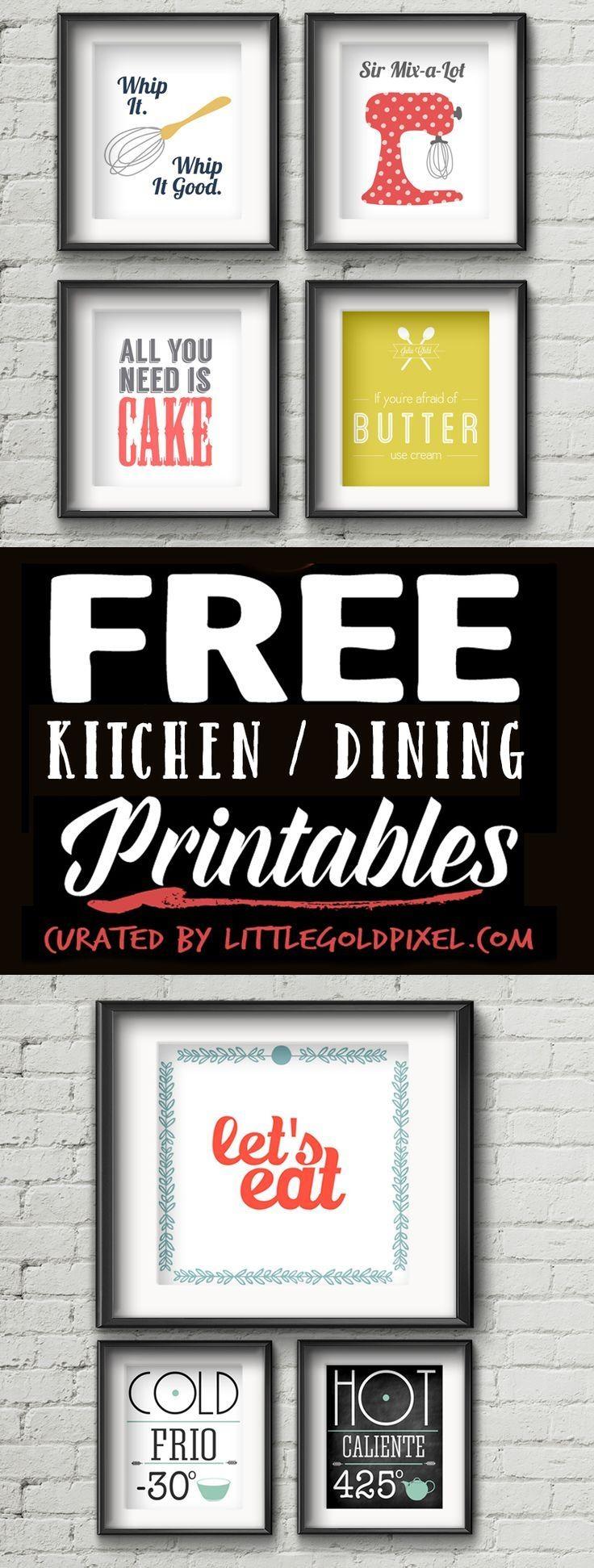 Best 20+ Kitchen Wall Art Ideas On Pinterest | Kitchen Art Within Kitchen And Dining Wall Art (Image 4 of 20)