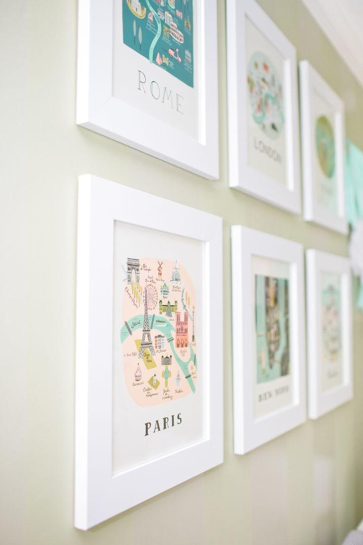 Best 20+ Map Wall Art Ideas On Pinterest | World Map Wall, Map In Paris Theme Nursery Wall Art (Image 6 of 20)
