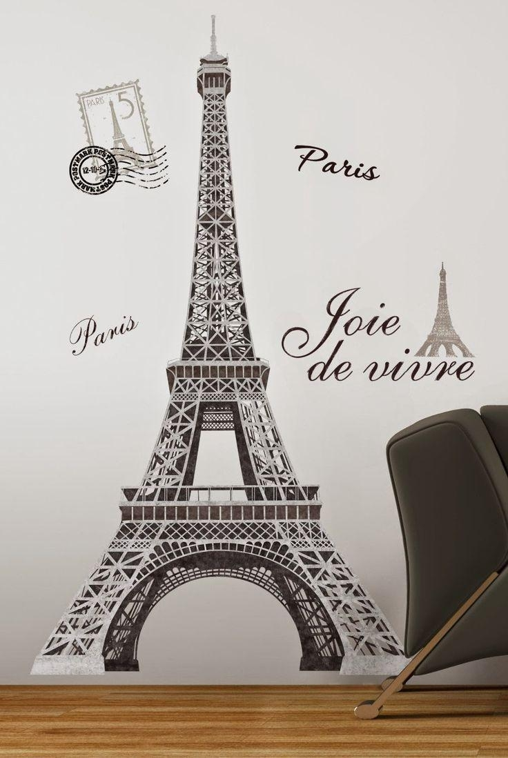 Best 20+ Paris Themed Bedrooms Ideas On Pinterest | Paris Bedroom Regarding Paris Theme Wall Art (Image 3 of 20)