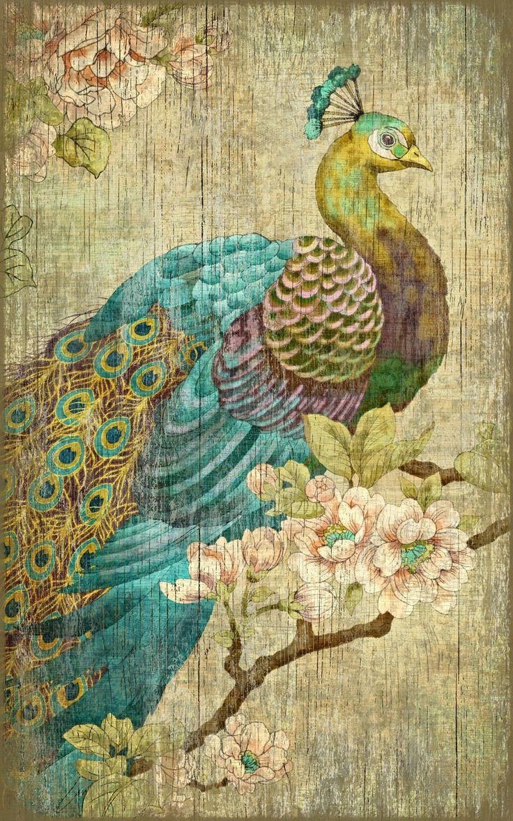 Best 20+ Peacock Wall Art Ideas On Pinterest | Peacock Art Within Jeweled Peacock Wall Art (Image 4 of 20)