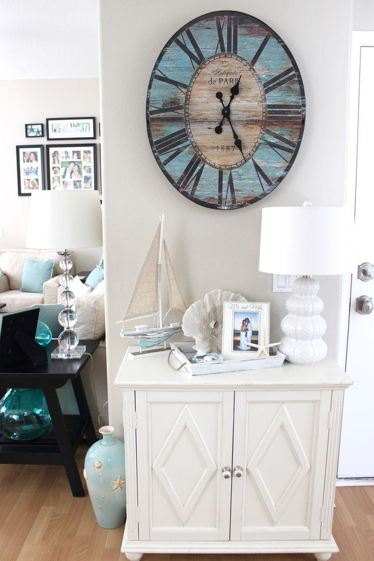 Best 20+ Rustic Beach Decor Ideas On Pinterest | Nautical Bedroom With Beach Cottage Wall Decors (View 3 of 20)