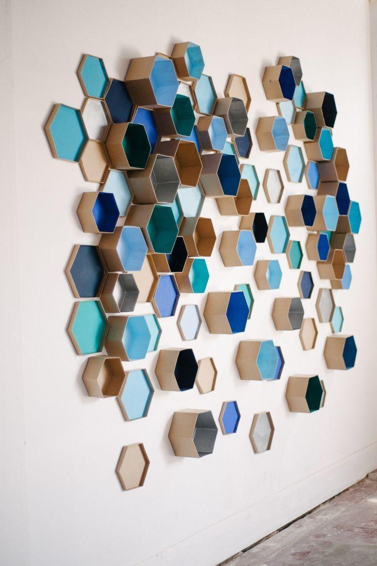 Best 25+ 3D Wall Art Ideas On Pinterest | Paper Wall Art, Paper Within 3D Paper Wall Art (Image 7 of 20)
