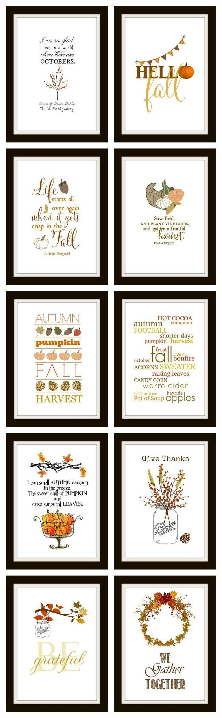 Best 25+ Autumn Diy Room Decor Ideas On Pinterest | Fall Crafts Inside Autumn  Inspired Wall Art (Image 5 of 20)