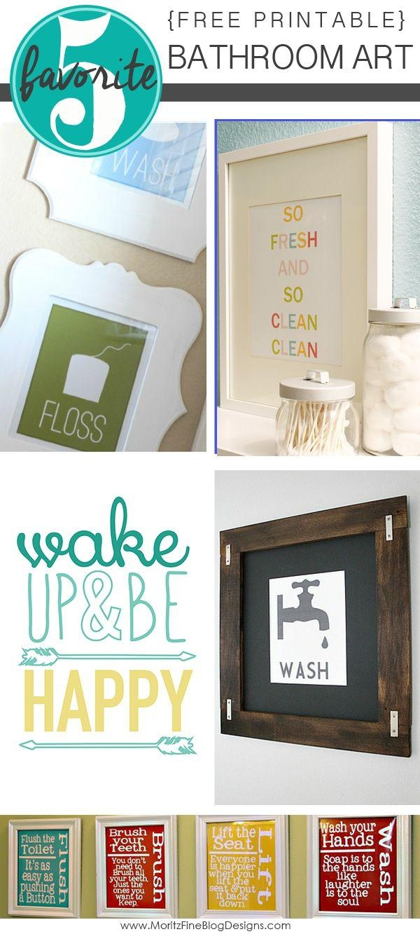 Wall Art Ideas: Bathroom Wall Hangings (Explore #12 of 20 Photos)