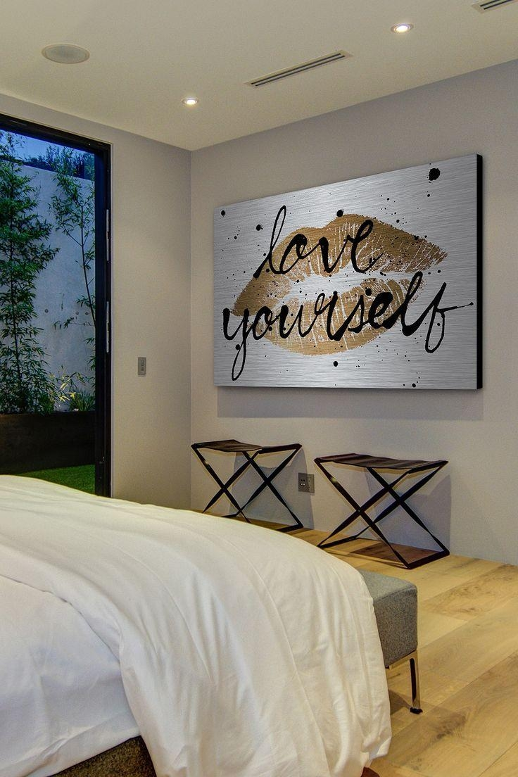 Best 25 bedroom canvas ideas only on pinterest 1d 2016 teen throughout silver