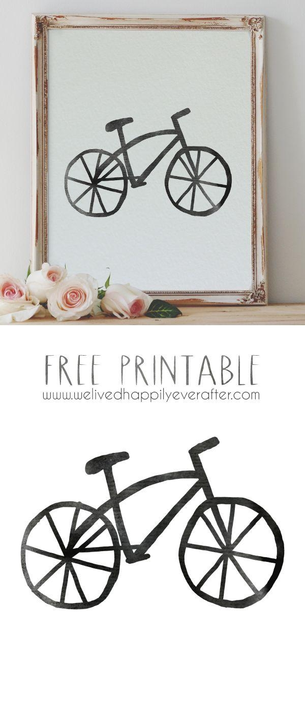 Best 25+ Bike Drawing Ideas On Pinterest | Bicycle Drawing Throughout Bike Wall Art (Image 6 of 20)