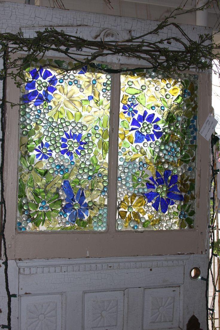 Best 25+ Broken Glass Art Ideas On Pinterest   Broken Glass Crafts In Glass Wall Artworks (View 18 of 20)