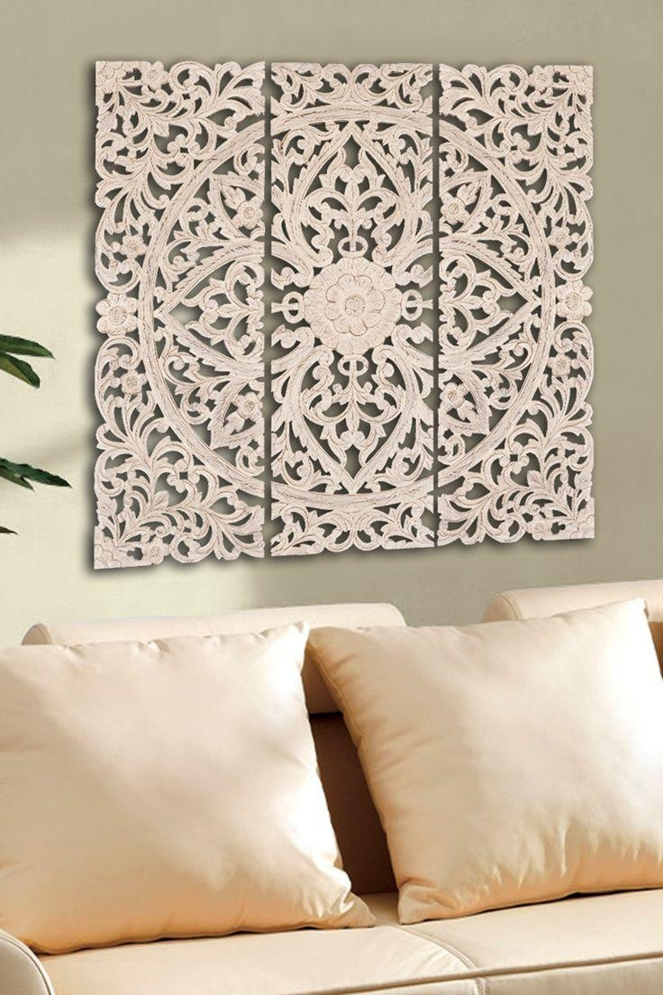 Best 25+ Carved Wood Wall Art Ideas On Pinterest | Thai Decor Intended For Polynesian Wall Art (Image 2 of 20)