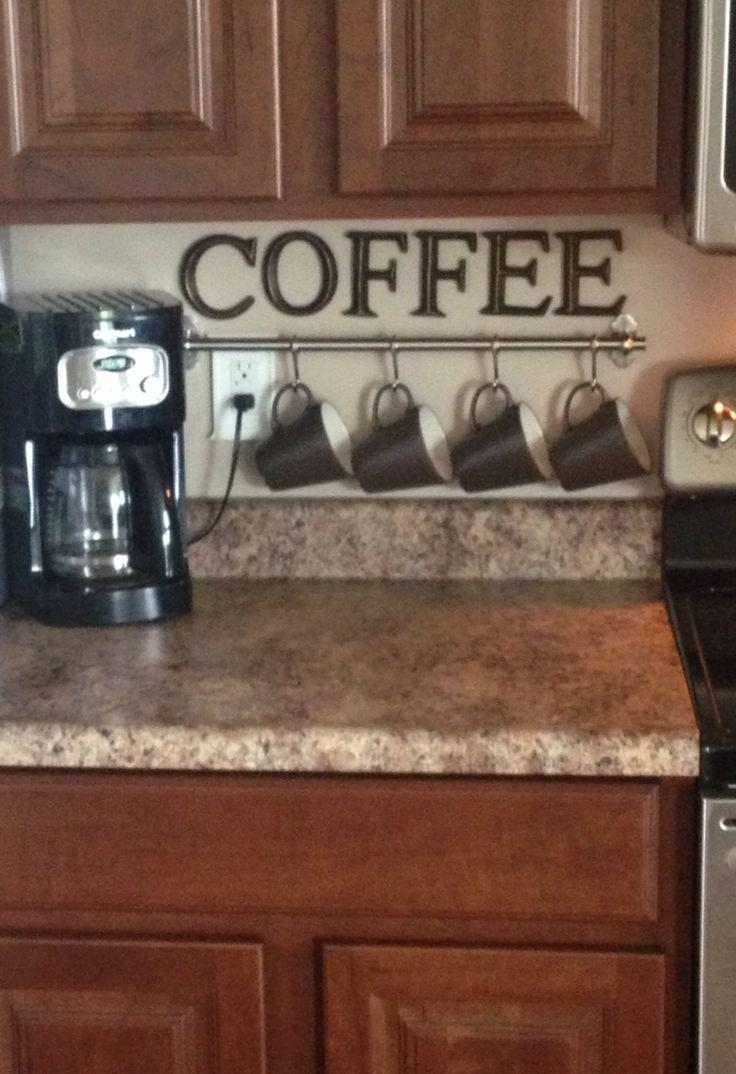 Best 25+ Coffee Theme Kitchen Ideas Only On Pinterest | Cafe With Coffee Theme Metal Wall Art (Image 5 of 20)