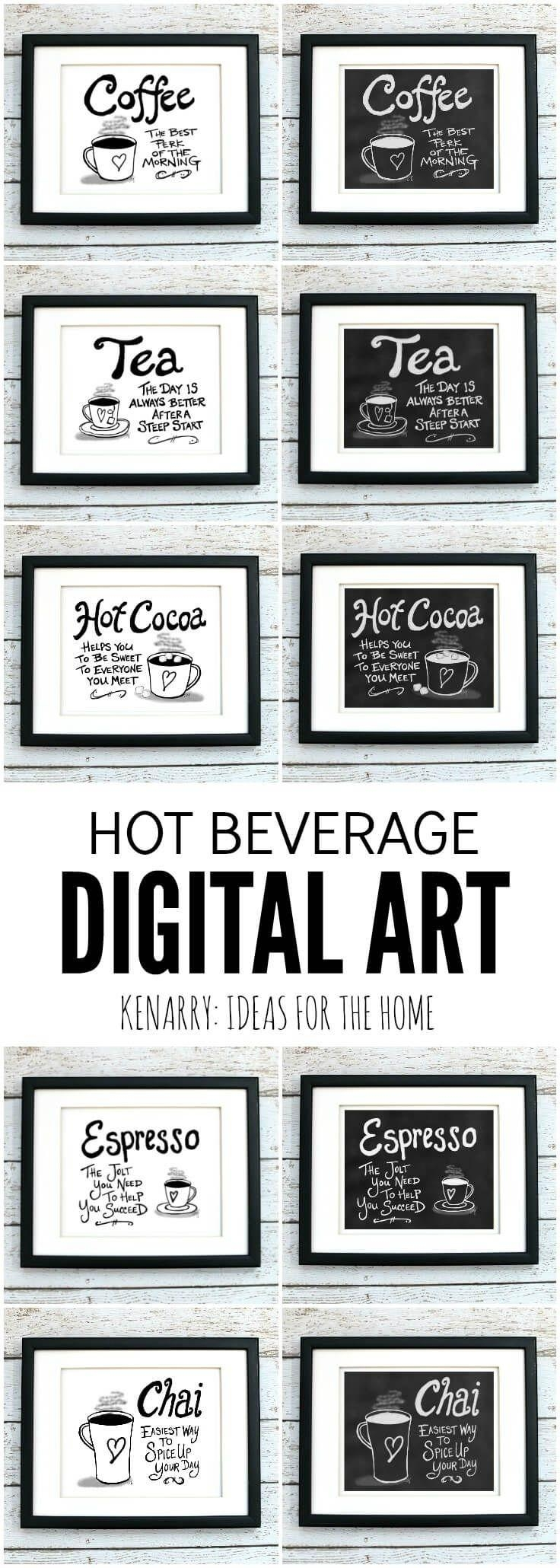 Best 25+ Coffee Wall Art Ideas On Pinterest | Coffee Shop Menu Pertaining To Cafe Latte Kitchen Wall Art (Image 3 of 20)