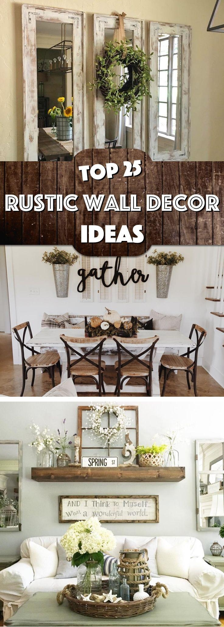20 collection of country style wall art wall art ideas for Living room wall art pinterest