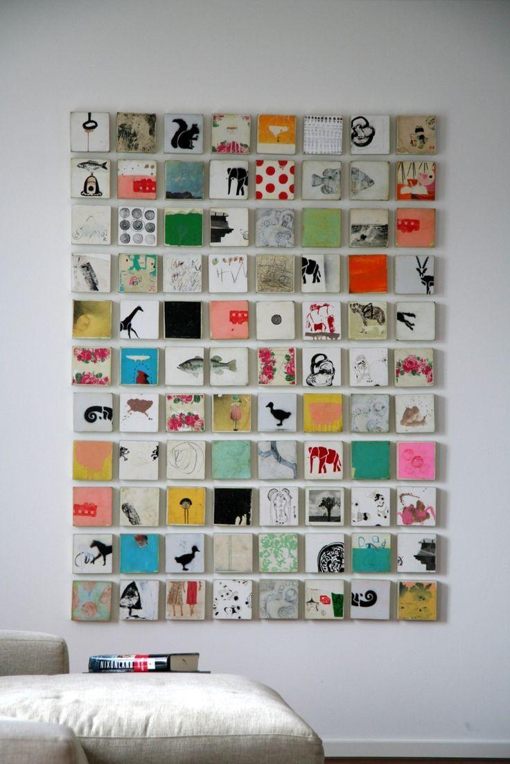 Best 25+ Decoupage Canvas Ideas On Pinterest | Scrapbook Paper Art With Regard To Decoupage Wall Art (Image 2 of 20)