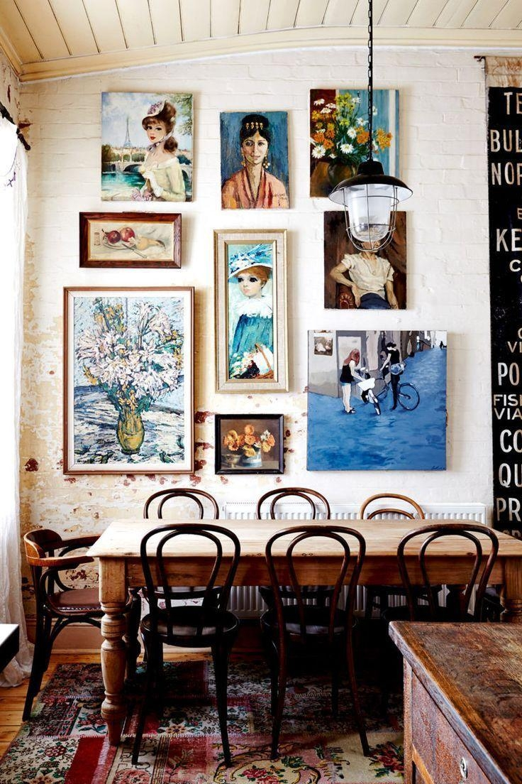 20 choices of modern wall art for dining room wall art for Dining room paintings