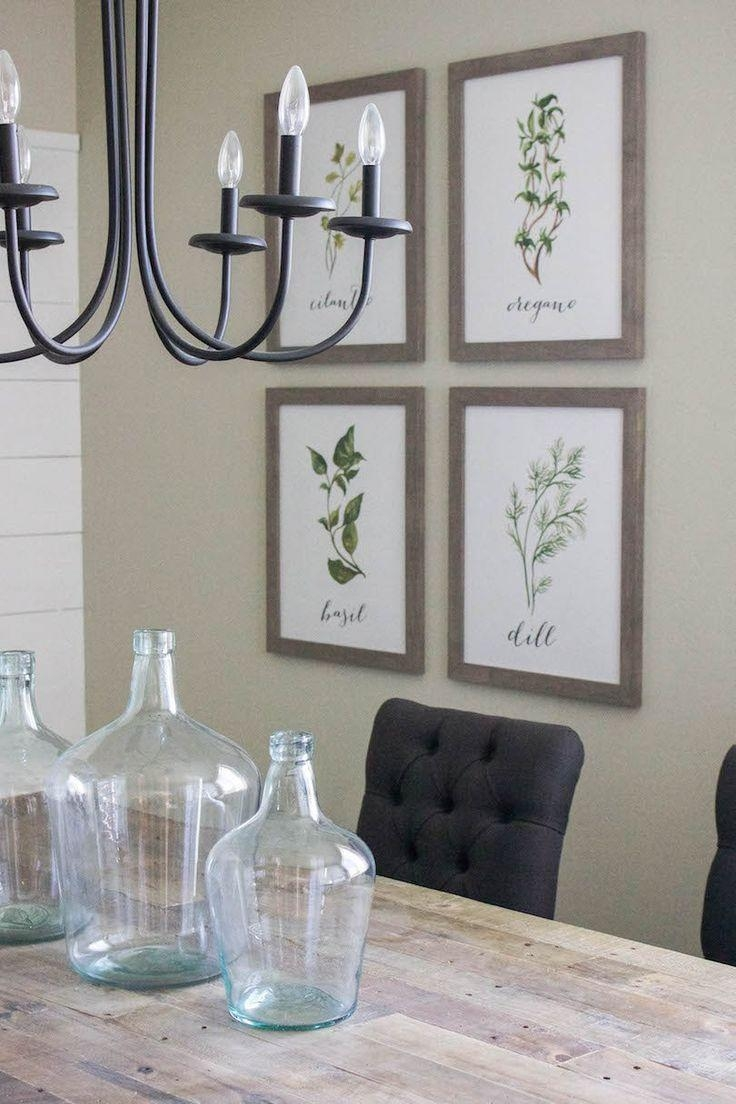Best collection of wall art for dining room