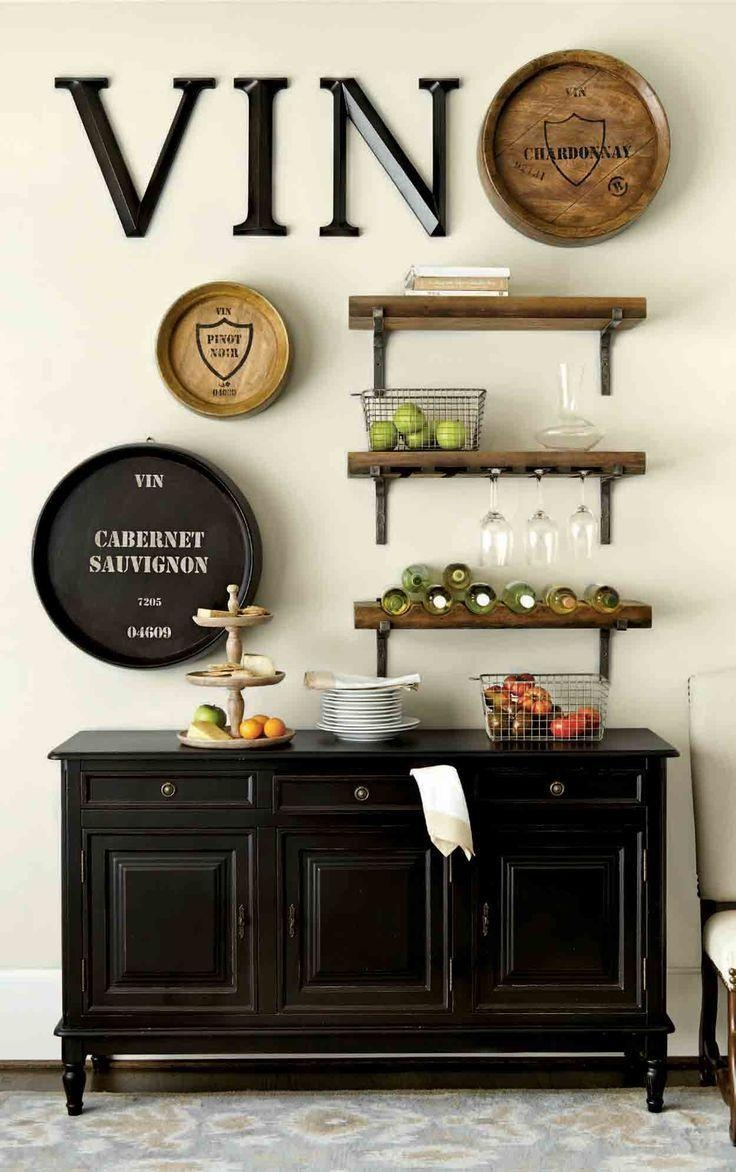 Best 25+ Dining Room Wall Decor Ideas On Pinterest | Dining Wall For Wall Art For Bar Area (Image 7 of 20)