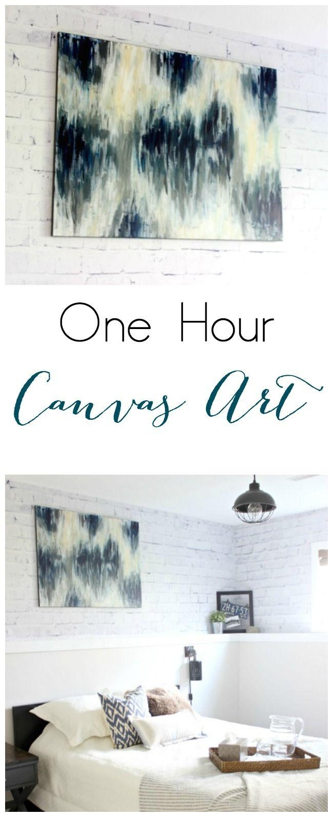 Best 25+ Diy Canvas Art Ideas On Pinterest | Diy Canvas, Diy Pertaining To Diy Pinterest Canvas Art (View 17 of 20)
