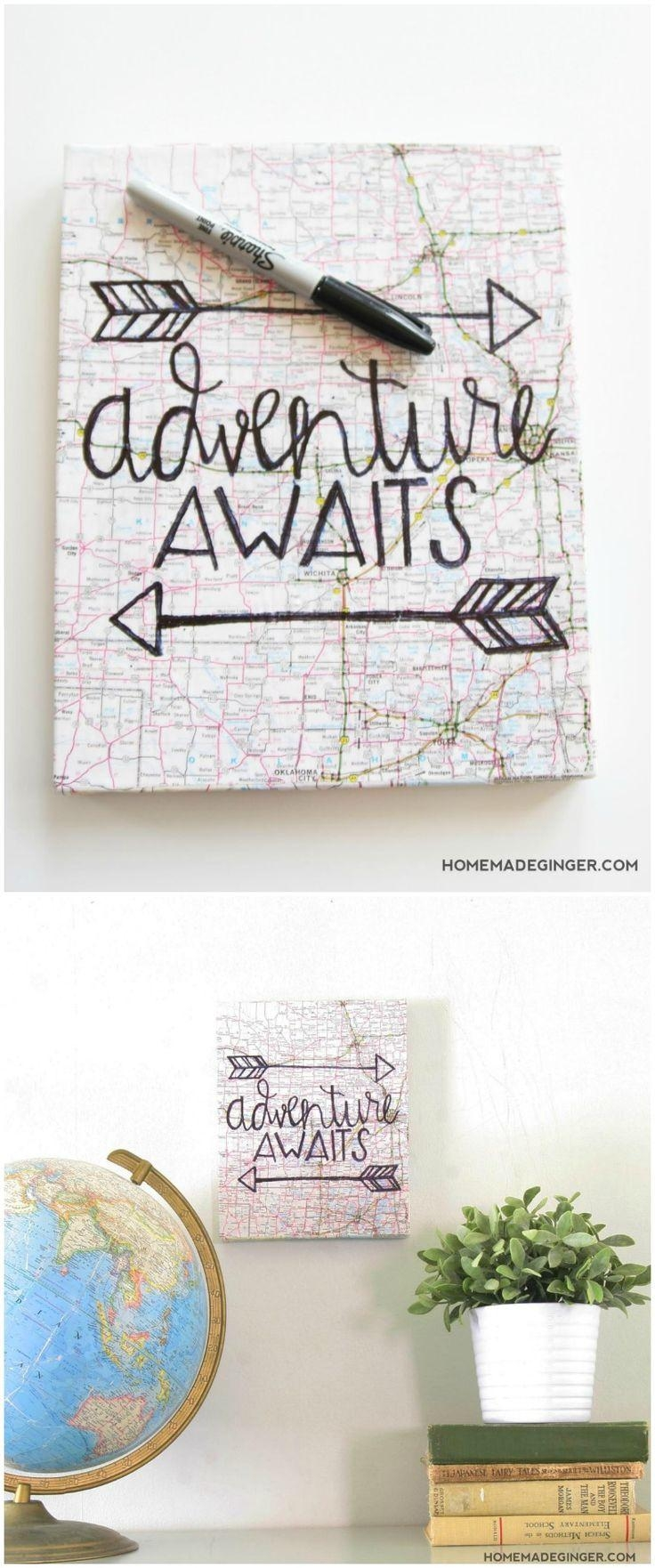 Best 25+ Diy Canvas Art Ideas On Pinterest | Diy Canvas, Diy Pertaining To Diy Pinterest Canvas Art (View 8 of 20)
