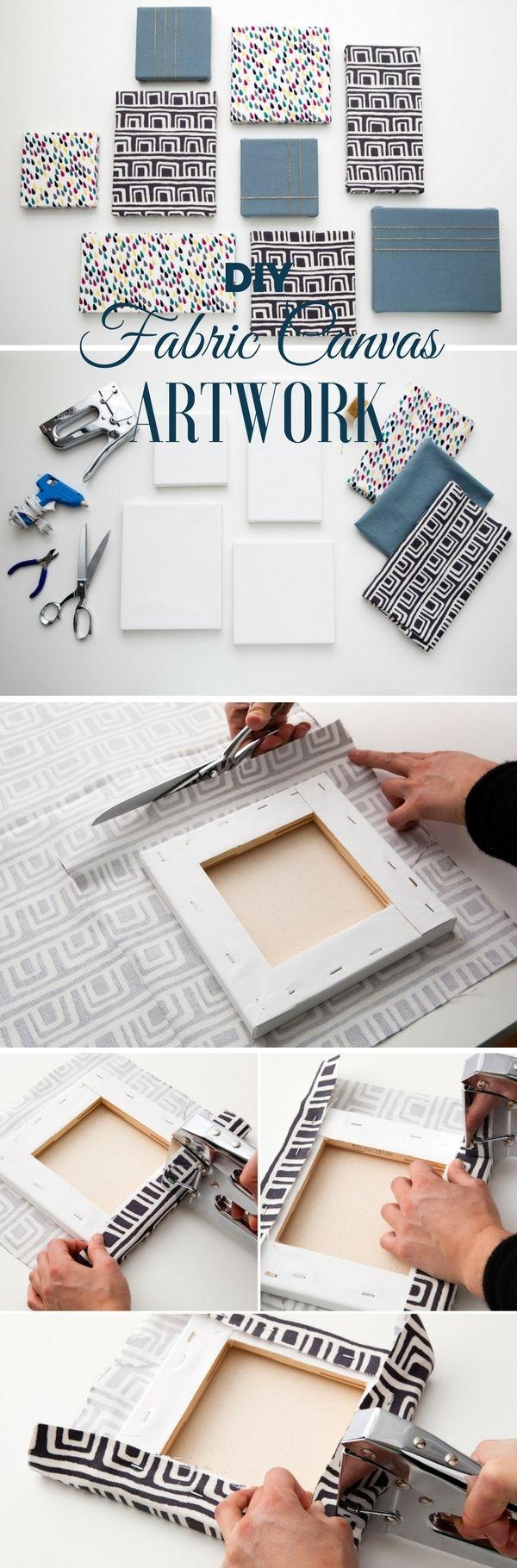 Best 25+ Diy Canvas Ideas On Pinterest | Diy Canvas Art, Puffy For Diy Pinterest Canvas Art (View 10 of 20)